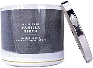 White Barn Bath and Body Works Vanilla Birch 3 Wick Scented Candle 14.5 Ounce