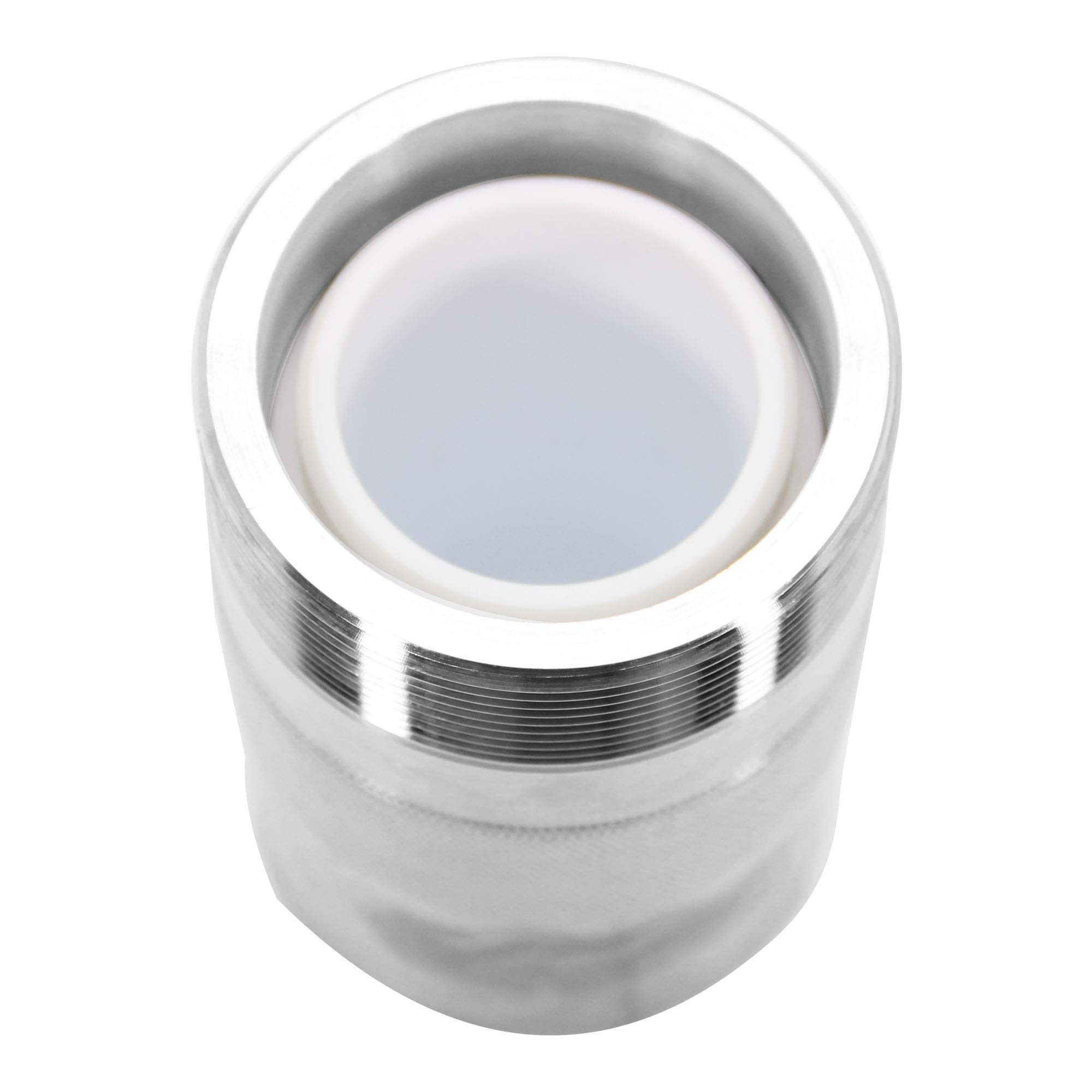 BAOSHISHAN 100ml Hydrothermal Synthesis Autoclave Reactor 6Mpa 240C with Pressure Relief Hole and 7mm Thickening PTFE Lining Acid and Alkali Resistance by BAOSHISHAN (Image #5)