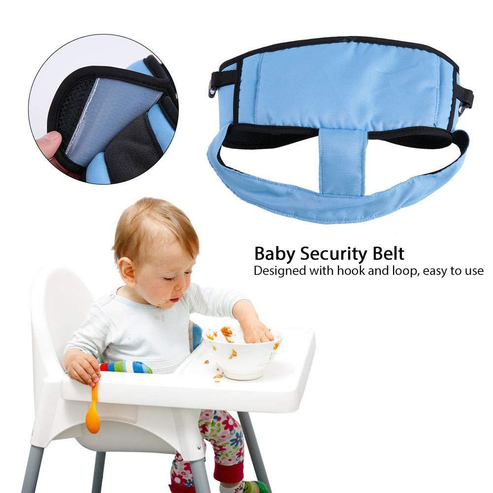 Black Tragbare Verstellbare Baby Sicherheitsgurt F/ütterung Stuhl Gurtband Outdoor Wandergurt f/ür Kindersicherheit