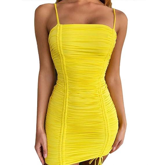fd22107b3114 Mosstars Vestidos de Fiesta Mujer Cortos Sexy Mujeres Moda Casual ...