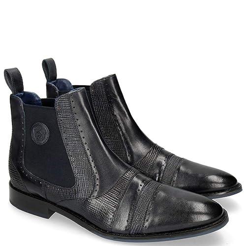 MELVIN & HAMILTON MH HAND MADE Schuhe OF Rio CLASS Victor 8 Rio OF Navy ... f9e341