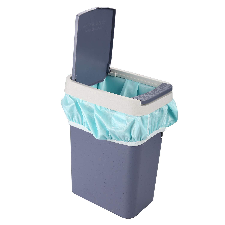 Amazon.com: Impermeable reutilizable gran capacidad 25 x 28 ...