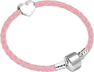 Parity Pandora Pink Leather Bracelet Sale Up To 76 Off