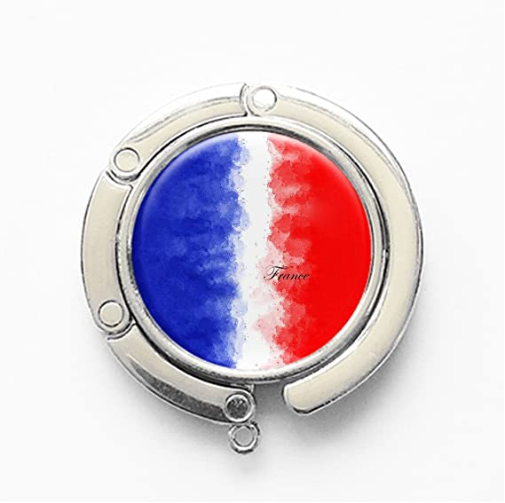 France Flag Handbag Table Hook Hanger