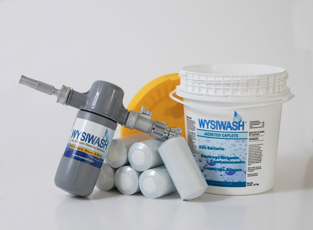 WYSIWASH Sanitizer-V and 9-Pack of Jacketed Caplets