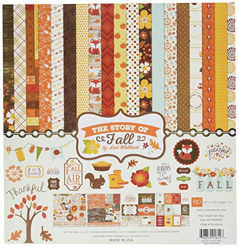 Echo Park Paper Company TSF93016 The Story of Fall Collection Kit by Echo Park Paper Company