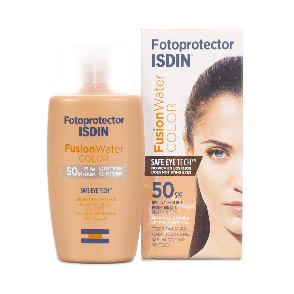 FUSION WATER fotoprotector color SPF50+ 50 ml Isdin 45