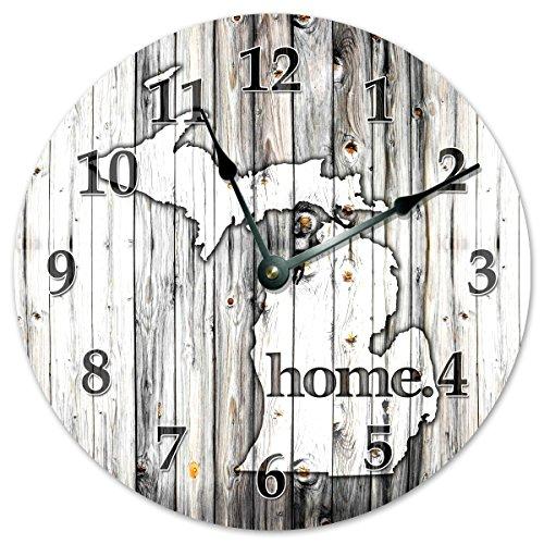 wall clock open face - 8
