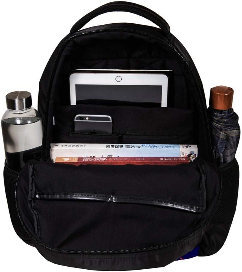 MAPOLO Tiger in The Center School Backpack Travel Bag Rucksack College Bookbag Travel Laptop Bag Daypack Bag for Men Women