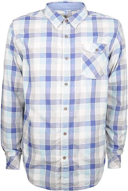 Timberland - Camisa casual - para hombre Azul azul XXL: Amazon.es: Ropa y accesorios