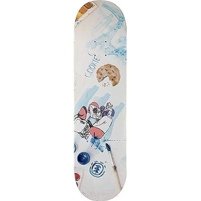 Element Cobourne Cookie Desk Art Skateboard Deck -8.2 - Assembled AS Complete Skateboard : Sports & Outdoors