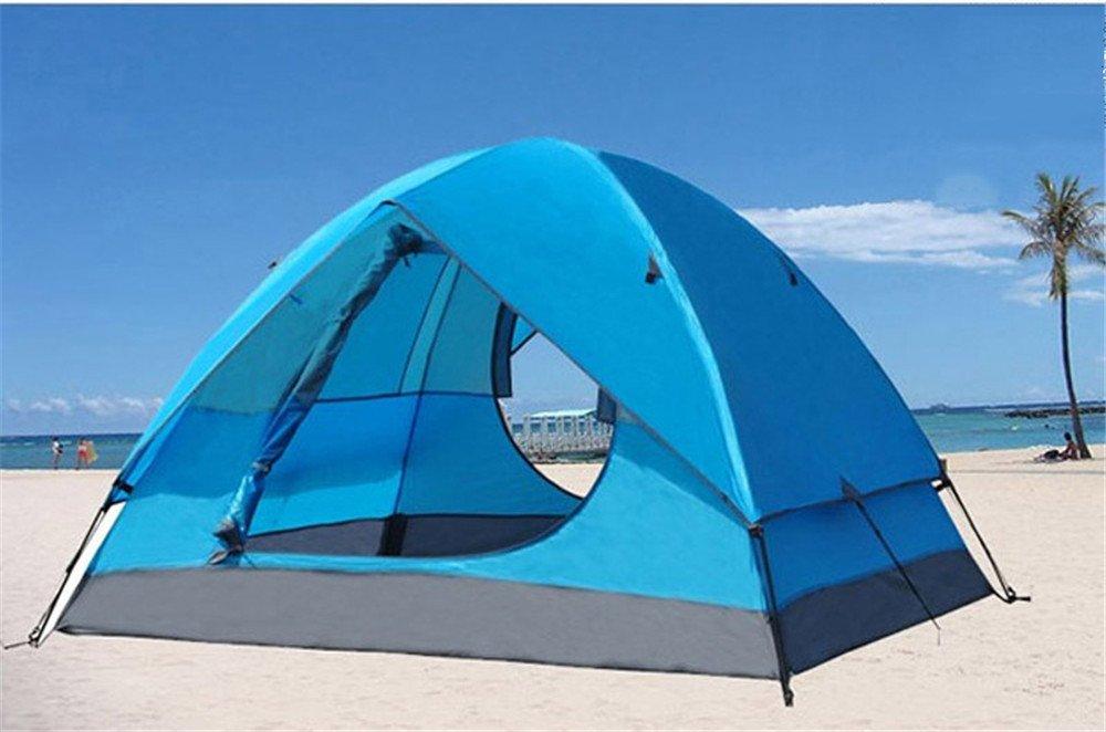 Kaxima Outdoor-Doppeltür Regen-Proof doppelte camping Zelt