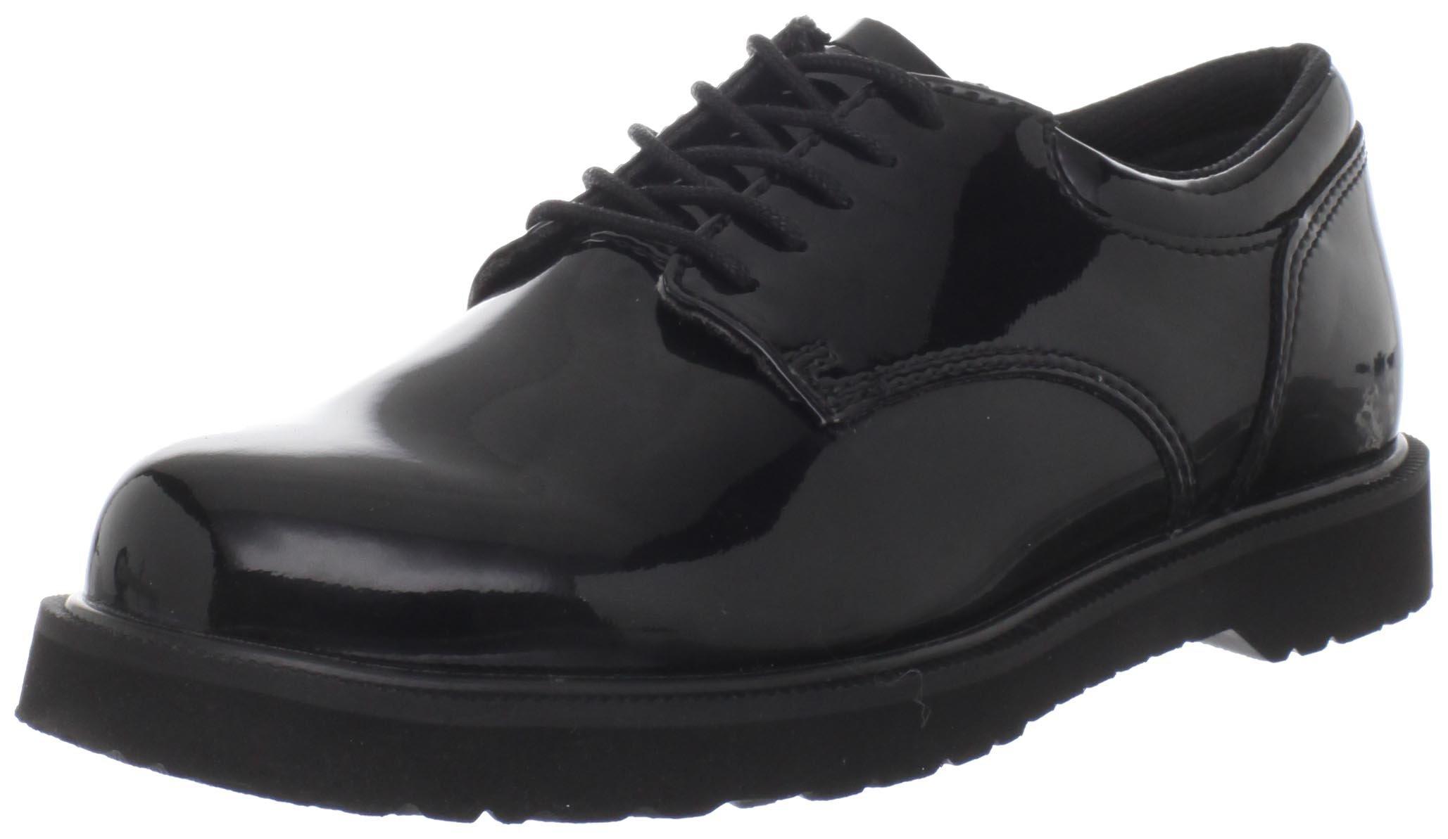 Bates Women's Uniform High Gloss Boot, Black, 8 W US