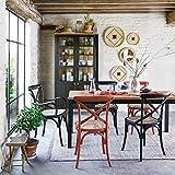 La Redoute Interieurs Rybatt Round Woven Mirror Beige Size One Size