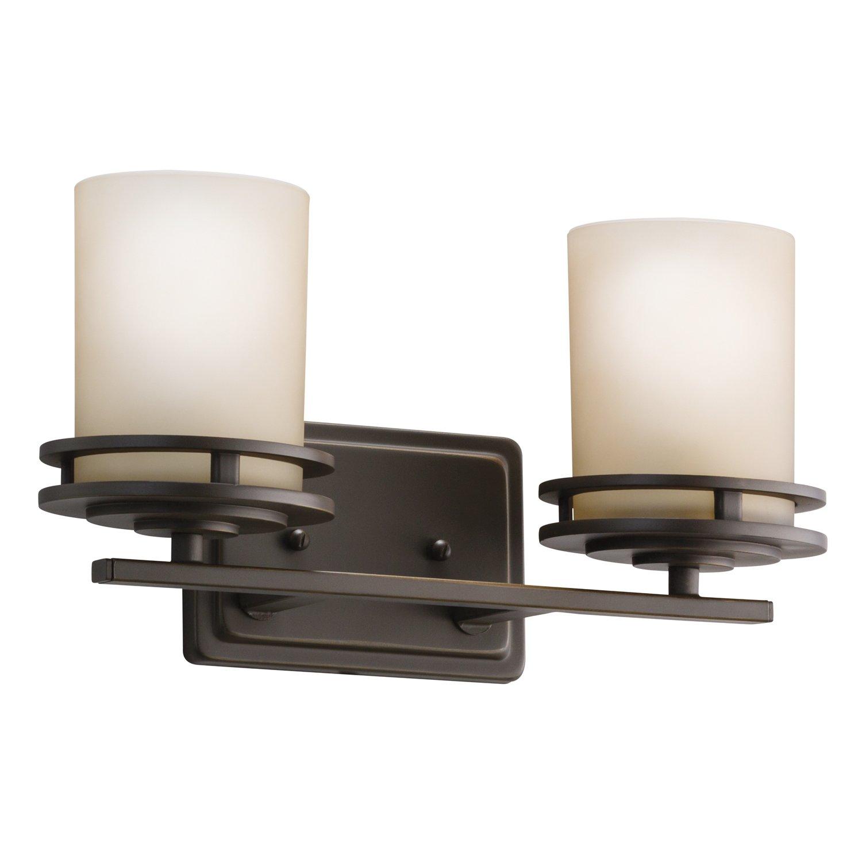 Kichler 5077NI Two Light Bath Vanity Lighting Fixtures Amazon