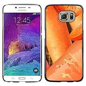 LECELL -- Funda protectora / Cubierta / Piel For Samsung Galaxy S6 SM-G920 -- Plant Nature Forrest Flower 24 --