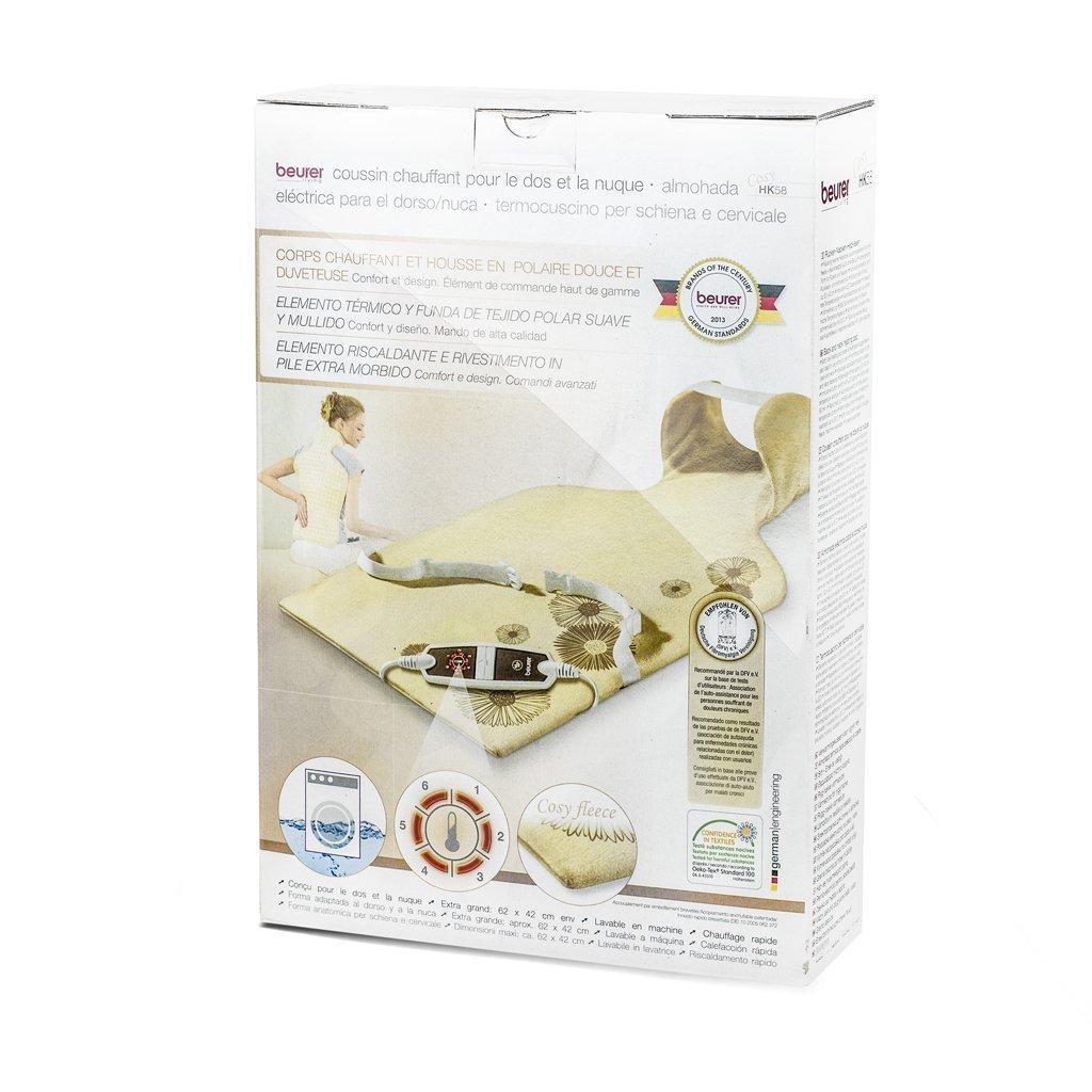 Beurer HK-58-LED - Almohadilla electrónica cervical / dorsal ...