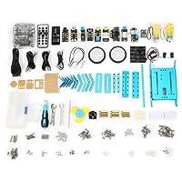 Makeblock mBot Classroom Kit, mBotV1.1+Gizmos Add-on Packs, Programmable Robot Kit for Kids to Learn Coding, Blue, Steam Education