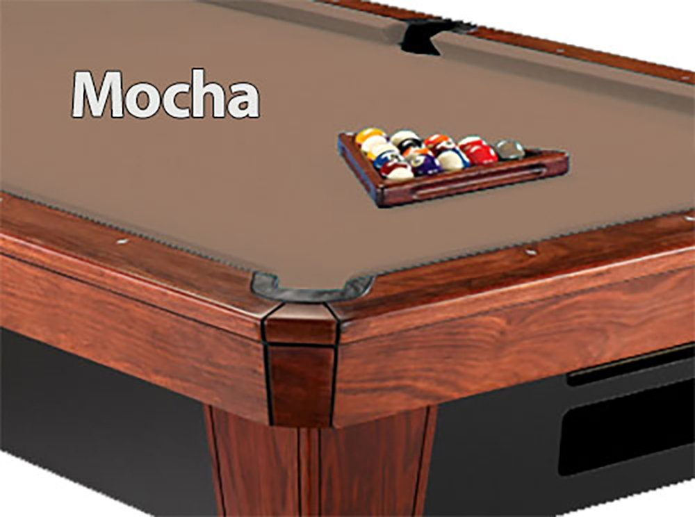 12 'シモニスクロス860モカPool Table Clothフェルト B013T39QYK