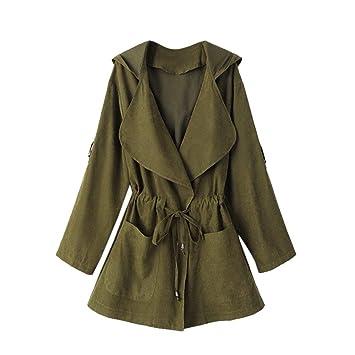 Abrigos para Mujer Chaqueta Outwear Abrigo de Invierno Invierno Cálido Mujeres con Capucha de Manga Larga