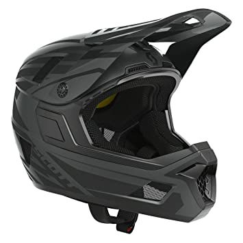 Scott Nero Plus DH FR Bicicleta Casco Negro 2018