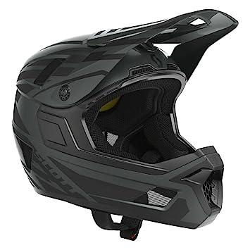 Scott Nero Plus DH FR Bicicleta Casco Negro 2018