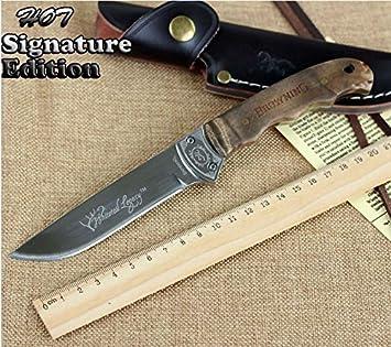 Browning - Cuchillo de caza grabado, para exteriores, caza o senderismo