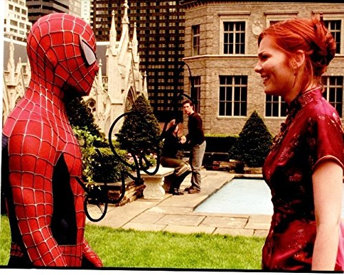 Kirsten Dunst Signed - Autographed SPIDER-MAN 8x10 Photo - Guaranteed to pass PSA or JSA - Mary Jane Watson - Spiderman