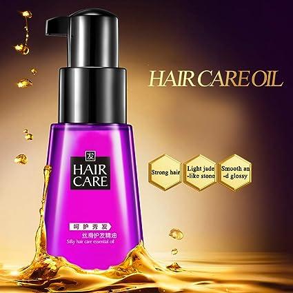 Aceite natural de Marruecos que hidrata el cabello dañado y ...