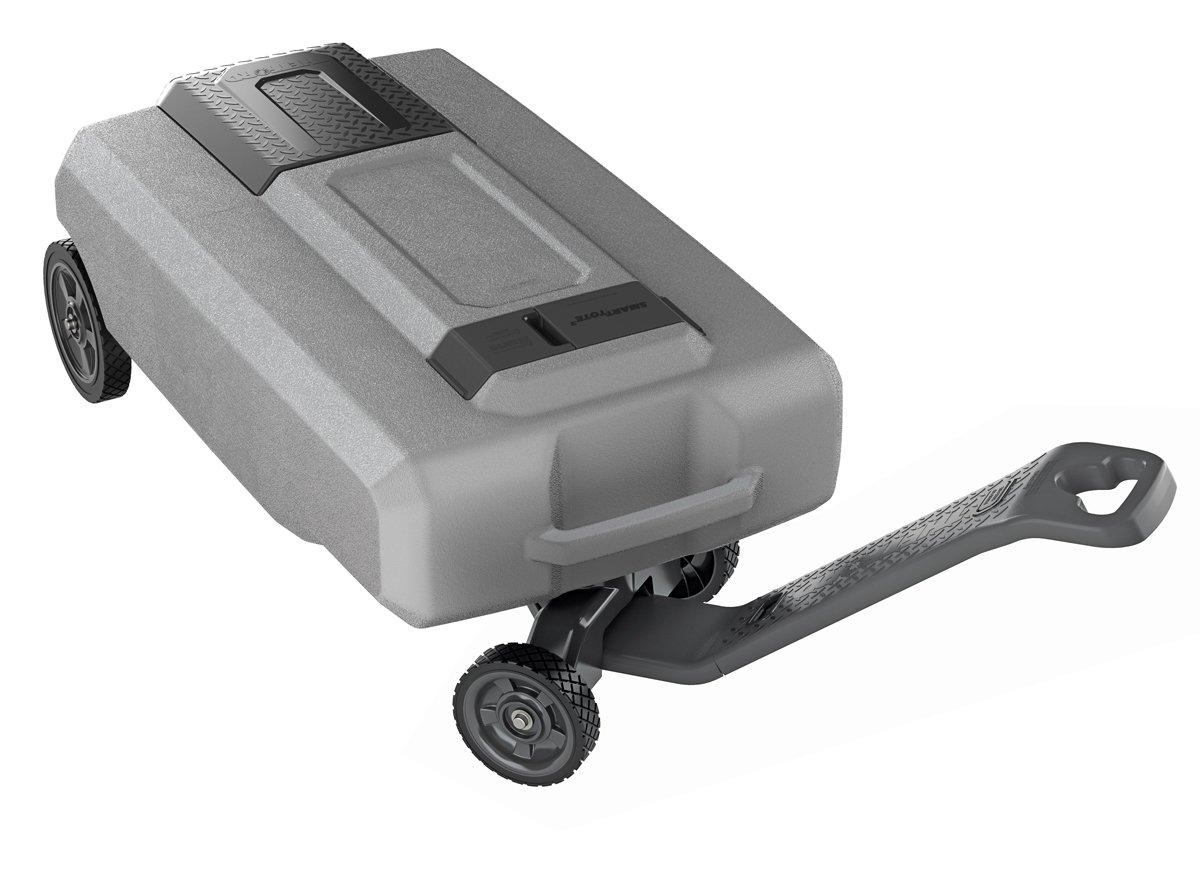 SmartTote2 40518 LX Portable RV Waste Tote Tank-4 Wheels-27 Gallons-Thetford-40518