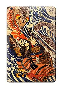 Defender Case With Nice Appearance (japanese Art) For Ipad Mini