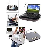 Buffer Minderli Lambalı Fonksiyonel Laptop Sehpası