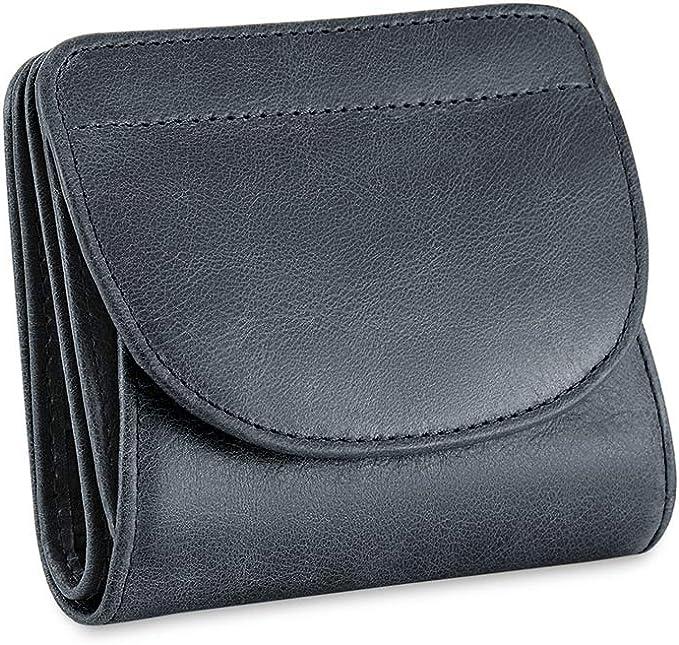 Portafoglio da donna con portamonete lungo portafogli in pelle con stampa a K8A1