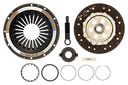 R1 Concepts KEDS11165 Eline Series Cross-Drilled Slotted Rotors And Ceramic Pads Kit Rear