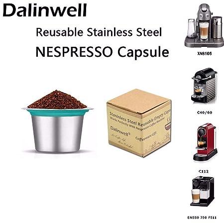 OLKD 2 UNIDS/Repuesto de Caja Café Nespresso Cápsulas Recargables ...