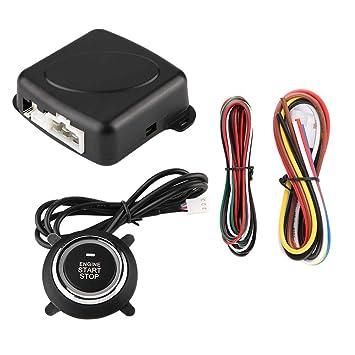Amazon.com: Sistema de alarma de coche Qii Lu, sistema de ...