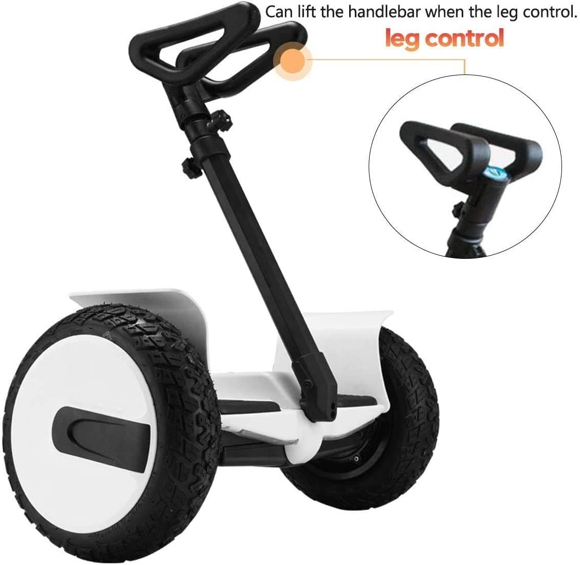 GLDYTIMES FEC Adjustable Handlebar Handle Stand Release Knee Pressure Replacement for Segway Ninebot miniPRO miniLITE S Self Balance Hoverboard Handlebar Components Only