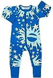 Bonds Baby Wondersuit 2 Way Zip Sleep and Play Fold Over Hand/Feet Cuffs - Blue - 0-3 Months