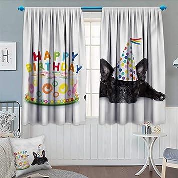 Amazon.com: Chaneyhouse - Cortina de cumpleaños para niños ...
