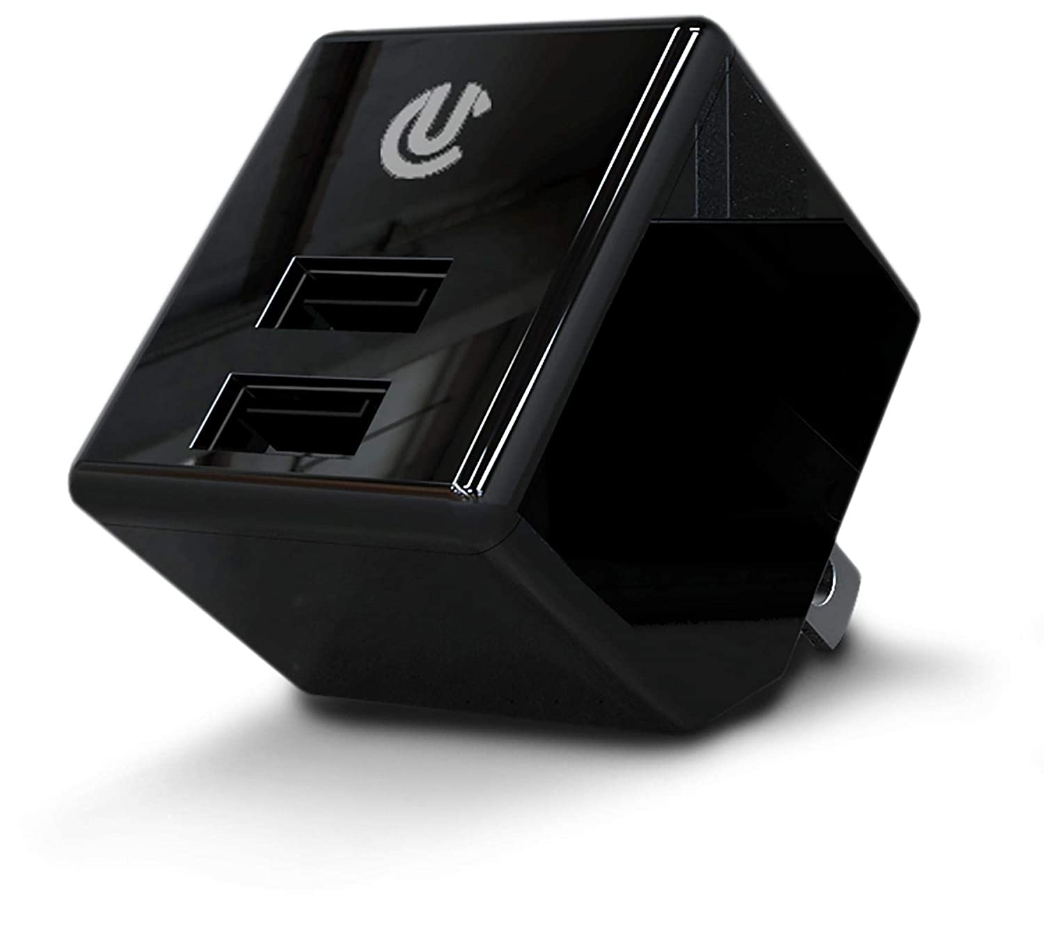 Uclear Dual Port AC//USB Charge Adapter