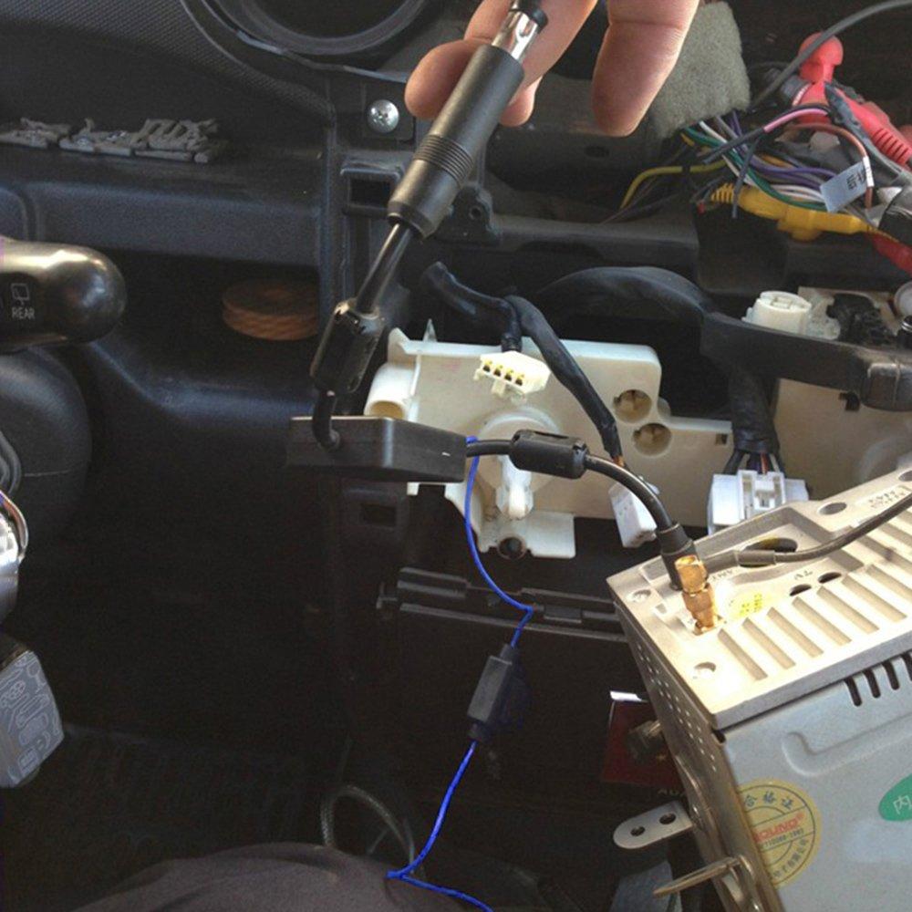 sourcing map 20pc M6x1 Droites Laiton raccord graisseur Auto Moto