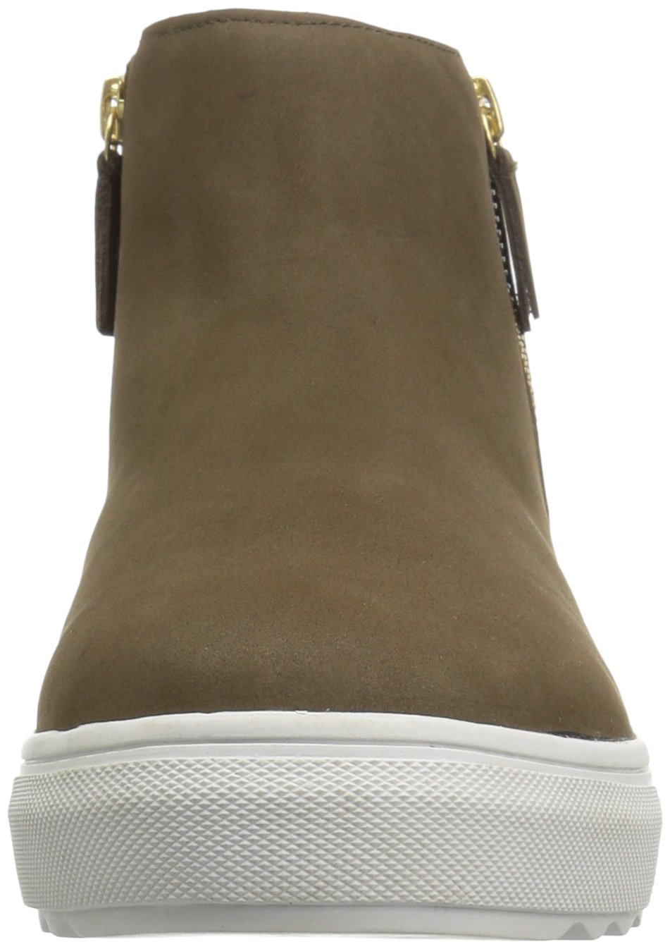 J Slides Women's Poppy Ankle Boot B074QQHTGQ 6 B(M) US Khaki