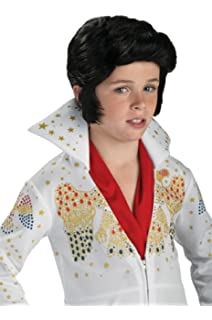 Amazon elvis childs costume large toys games rubies costume elvis presley child wig solutioingenieria Image collections