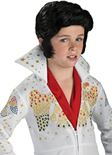Child Elvis Wig  sc 1 st  Amazon.com & Amazon.com: Rubieu0027s Elvis Childu0027s Costume Large: Toys u0026 Games