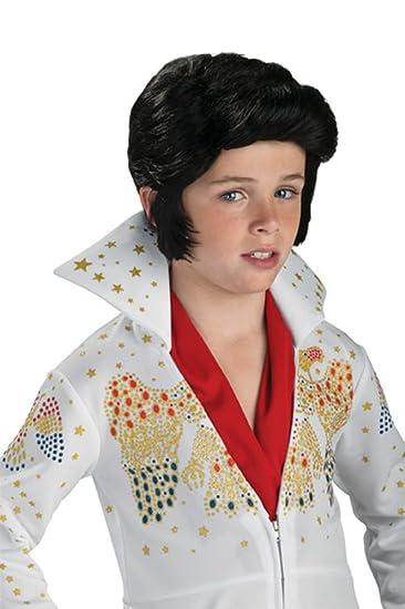 Amazon.com  Rubie s Costume Elvis Presley Child Wig  Toys   Games fb66ddcede84