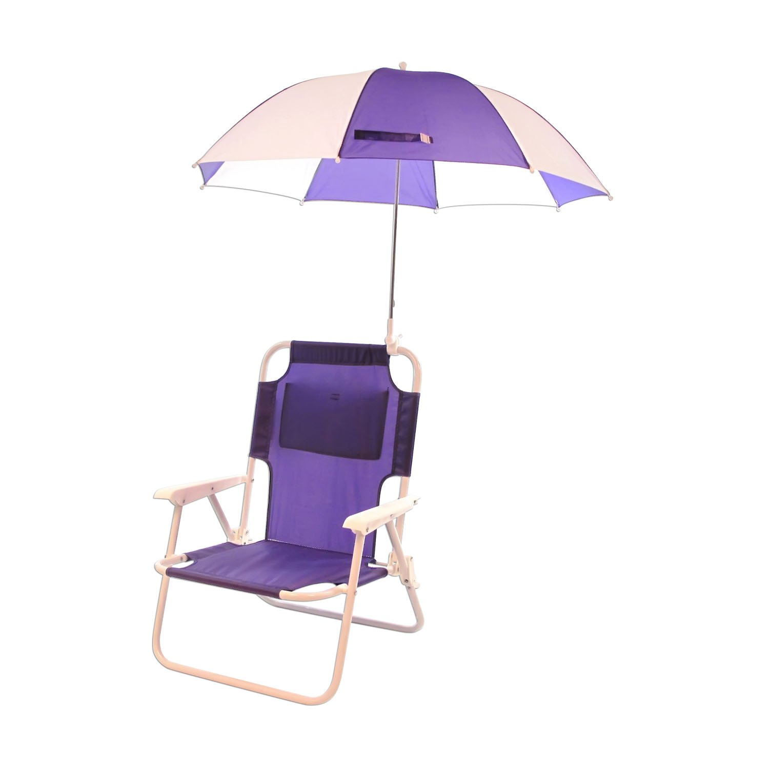 B002FQKAJ8 Redmon For Kids Outdoor Baby Kids Beach Chair with Umbrella, Purple 61Vx8myezmL._SL1500_