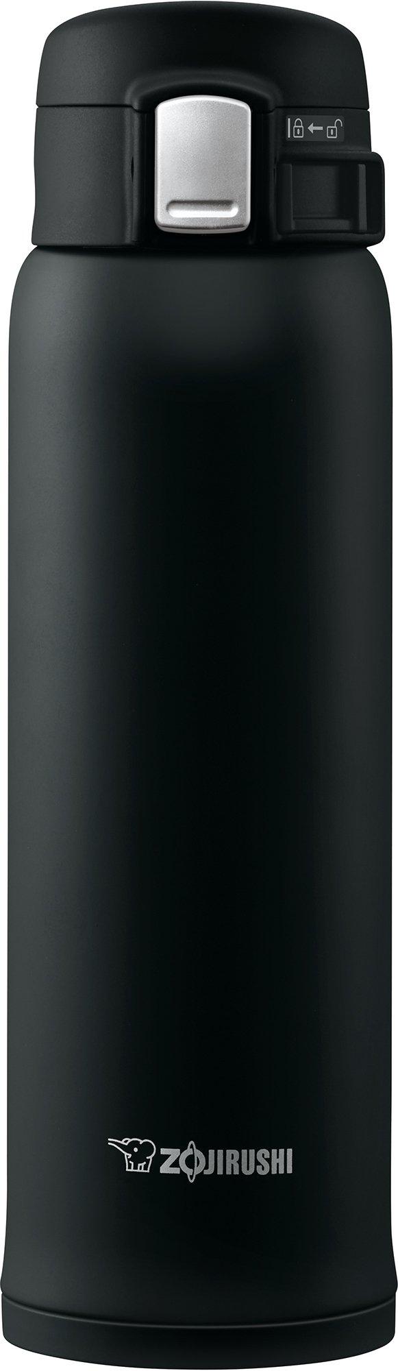 Zojirushi SM-SHE48BZ Stainless Steel Mug, 16 ounce, Black Matte