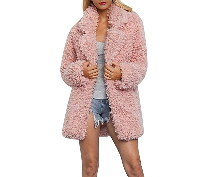 Amazon.com: DJBM - Chaqueta de forro polar para mujer ...