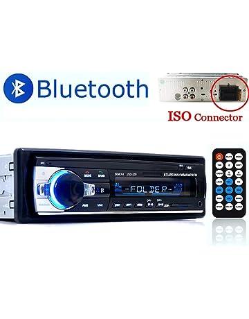 PolarLander Auto Radio, Autoradio Bluetooth, Manos Libres Radio Estéreo de Coche, Apoyo de