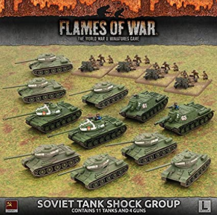 Amazon com: Flames of War: Late War: Soviet Union: Shock